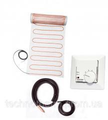 Теплый пол нагревательный мат Technotherm WFK 8.0 м² / 160 Вт