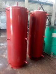Heataccumulators of 360 l, 450 l, 500 l, 700 l,