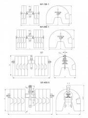 Балласты БЛ-200-1 150 кг