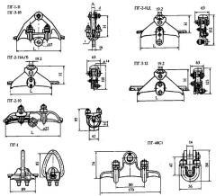 Зажим ПГ-1-11