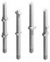 Сборная железобетонная колонна сечением...
