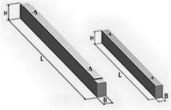Перемычка брусковая марка 9ПБ 30-4