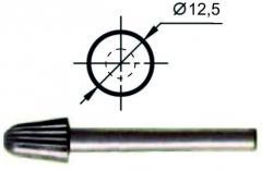 Борфреза сфероконическая L Ø12,5 мм., нормальной точности