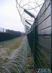 Спиральный барьер безопасности СББ - из нити...