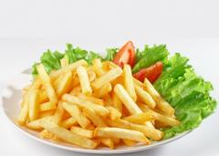 French fries,  packing of 2, 5 kg frozen
