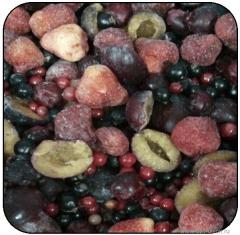 Kompotny mix cherry,  strawberry,  apple, ...