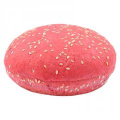 Булочка для гамбургера свекольная с кунжутом...