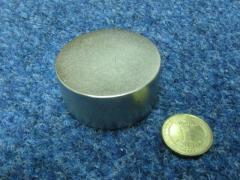 Неодимовый диск 55х25