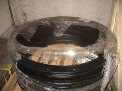 Поворотный круг прицепа Камаз реставрация