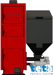 Котел пеллетный Альтеп КТ- 2Е SHN 250 кВт c допол. топкой (дрова, уголь)
