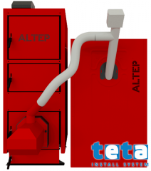 Котел пеллетный Альтеп КТ-2Е-PG с факельной горелкой ALTEP, 150 кВт