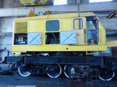 I will sell railroad crane of KDE-163