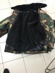 Куртка зсу НАТО на синтепоне и меховой подкладкой