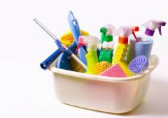 Household goods, household chemicals for bars,