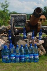 Вода минеральная Шаянская, вода столовая в бутлях