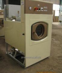 The washing machine with an intermediate