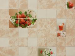 Novelties of wall-paper, Strawberry 0878-01