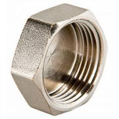 Заглушка VTr.590 1 1/2 ; 173 г ; 10 шт , 120 шт. Внутр. резьба, Латунная, никелированная