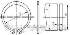 Кольцо А190 стопорное DIN471
