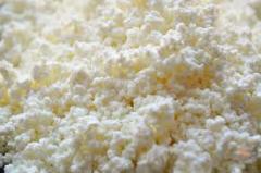 Творог жирный весовой, сыр кисломолочный 9%