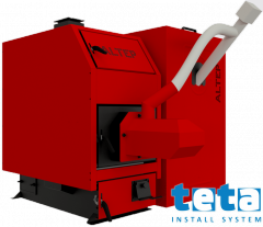 Котел пеллетный Альтеп КТ-3Е-PG 97 кВт, с факельной горелкой ALTEP