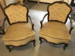 Кресло из массива дуба