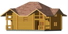 "House wooden ""Touris"