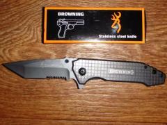 Tactical knife of Browning Browning folding