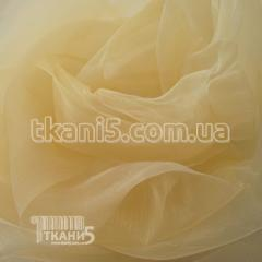 Fabric Organza shimmer (light-gold) 7147