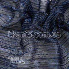 Fabric Pleating Lurex (dark blue) 7120