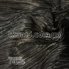 Fabric Pleating Lurex (black) 7119