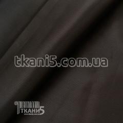 Ткань Подклада диагональ вискоза (коричневый)