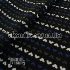 Fabric Jersey mohair on fur 7050