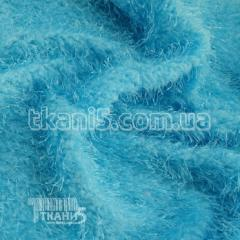 Fabric Jersey Lurex grass (blue) 6800