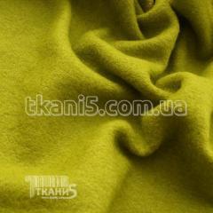 Ткань Шерсть вареная (оливковый)