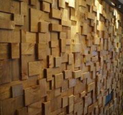 Панели деревянные с декором