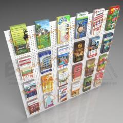 Карман для листовок или под открытки на сетку или
