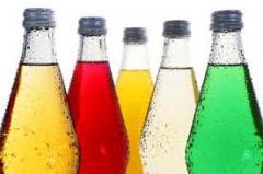 Soft drinks in assortment EXPORT