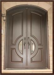 Doors from a pine Lviv, entrance doors from a