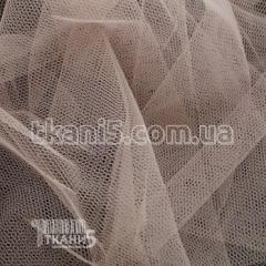 Ткань Фатин жесткий (пудра)