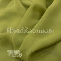 Fabric Chiffon monophonic (light khaki) 5366