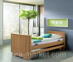 Электрическая 3 функциональная комфортная кровать для реабилитацииburmeier Royal Luxus Bed