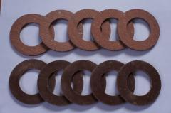 Накладка фрикционная кольцевая 100x45x5