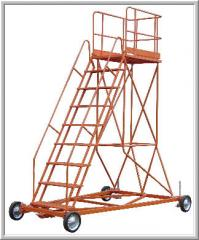 Step-ladder aviation STZ type