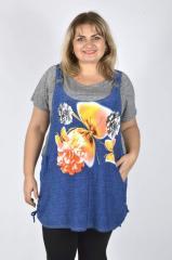 Туника весна-лето рубашка