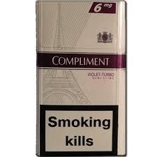 Сигареты Комплимент деми виолет турбо