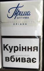 Сигареты Прилуки  синие квадратная пачка