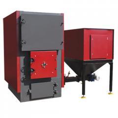 Котел на пеллете Ardenz ТМ 100 (45-110 кВт), 6 бар