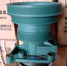 Pump water (Flat belt) VG1500060051 HOWO dump truck