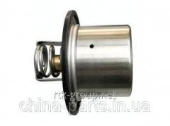 The thermostat without case (71 °C) WD615 HOWO VG1500061201 #запчасти HOWO